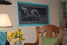 Through My Creative Mind Blog: Chalkboard Obsessed!