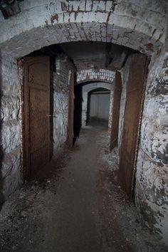 The tunnels under Danvers State Mental Hospital in Danvers, Massachusetts.