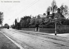 Old photo of Aldersgreen Avenue High Lane Local History, Old Photos, Manchester, Britain, Sidewalk, Places, Outdoor, Old Pictures, Outdoors