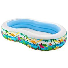See the fantastic Intex Swim Center Paradise Inflatable Pool here at beachaccessoriesstore. Here to buy at a reduced price for a limited period only - don't miss it! Buy Intex Swim Center Paradise Inflatable Pool securely online now. Water Play, Pool Water, Pool Spa, Above Ground Swimming Pools, In Ground Pools, Rectangle Above Ground Pool, Paradise Pools, Backyard Paradise, Pool Backyard