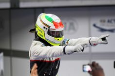 25.03.2012- Race, Sergio Perez (MEX) Sauber F1 Team C31 2nd position  What a source of national pride!