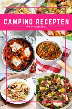 Camping recepten zijn top! Die zijn namelijk niet alleen handig tijdens de vakantie op de camping maar ook als je in een huisje verblijft. Easy does it!