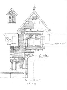 Duncan's design projects range from traditional churches, resort buildings & new urbanism - to estates, custom houses, beach houses & interior design. Edwardian Architecture, English Architecture, Architecture Images, Architecture Drawings, Historical Architecture, Architecture Details, Naruto Sketch, Urban Design Plan, Porte Cochere