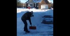 Quand un gars n'en peut pu d'la neige, ça donne ça… http://rienquedugratuit.ca/blogue/quand-un-gars-nen-peut-pu-dla-neige-ca-donne-ca/