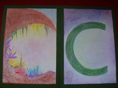 Waldorf Alphabet cards B.Ed Teacher Training students' work - Centre for Creative Education, Cape Town www.cfce.org.za