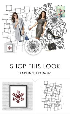 """""""Santa Baby Pinterest Challenge"""" by wild3cat on Polyvore featuring Arteriors"""