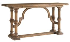 Stanley Furniture La Palma Portfolio Traditional Flip Top Console - AHFA - Console/Sofa Table Dealer Locator