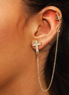 Have Faith Ear Cuff Set