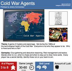 Cold War Agents by Jeremy Commandeur
