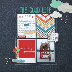 I love a good grid layout - this one uses 3x4 PL cards. Love!
