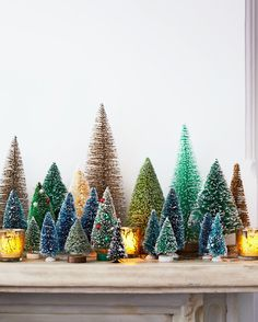When decking your own halls, consider these charming touches. Classic in inspiration and modern in execution, they bring cheer to nearly every room in the house and are