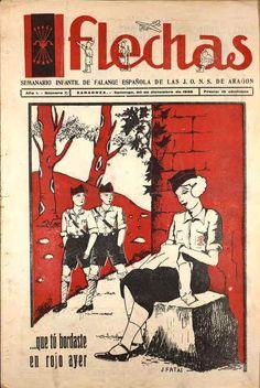 Flechas - 20 de diciembre 1936 Observe que los muchachos jóvenes casi parecen ser de las HJ