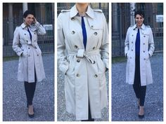 Come indossare il trench con stile | Consulente di immagine, Rossella Migliaccio Trench, My Style, Coat, Winter, Jackets, Outfits, Fashion, Spring, Winter Time