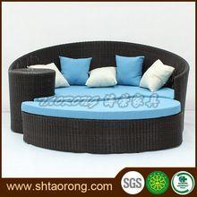Chinese supplier garden aluminum patio sectional rattan sofa