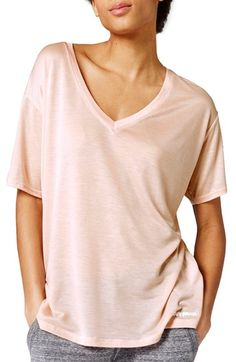 Free shipping and returns on IVY PARK® Oversize V-Neck Tee at Nordstrom.com. A roomy V-neck tee in a supersoft, sheer knit is a comfy choice from warm-ups to post-workout lounging.