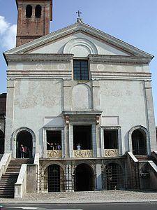 Il tempio di San Sebastiano, altra denominazione della chiesa, è un edificio religioso di Mantova, progettato da Leon Battista Alberti e oggi adibito a famedio dei caduti. La chiesa sorge a margine del centro lungo una delle arterie principali che conducevano alla zona paludosa del Tè, appena fuori le mura, dove si trovavano le stalle dei famosi cavalli vanto della casata dei Gonzaga