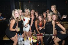 Girls night out at Las Vegas clubs