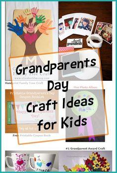 Grandparents Day Crafts for Kids - Such cute ideas here! Grandparents Day Poem, Grandparents Day Activities, National Grandparents Day, Grandparent Gifts, Activities For Kids, Easy Crafts For Kids, Toddler Crafts, Diy For Kids, Inspirational Artwork