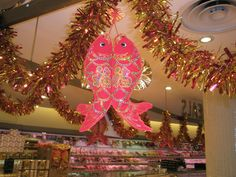 Fish symbolise abundance or prosperity, so eat some fish with your family to ensure 2013 is  a lucky year