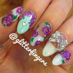 Instagram photo by glitterfingers #nail #nails #nailart
