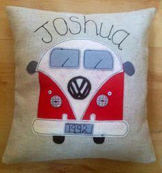 VW Bus Cushion - Personalised