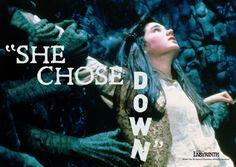 She chose down