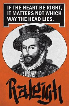 Sir Walter Raleigh Print 11x17  Famous Seniors by senioritis, $15.00