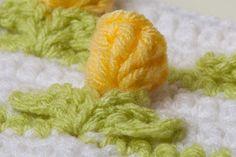 Rosetas pequeñas. Crochet patrón volumétrico. Discusión detallada sobre MK .. liveinternet - Russian Servicio Diarios Online