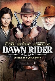 Dawn Rider (3 stars) A fairly good western. A hero with a sordid past and the reputation to go with it, a lovely love interest (and a love triangle to boot), and the hero's old friend from childhood who never quite kicked the habit of the old ways. Makes for an entertaining story. Slater was very good in this role.