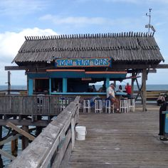 The Mai Tiki on the Cocoa Beach pier!!! Can't wait to be sitting there !!