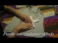 ▶ DIY. Como personalizar una camiseta con tachuelas - YouTube