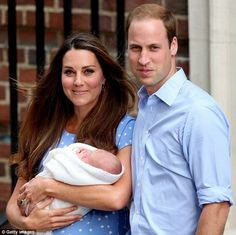 Special moment: 'Any new parent can understand what this feels like,' Kate said