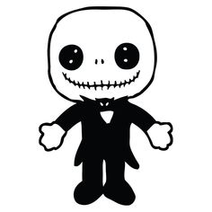 Nightmare Before Christmas Jack Doll Laptop Car Truck Vinyl Decal Window Sticker…
