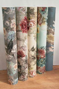 Wallpaper by Surface Pattern Designer Louise Tiler