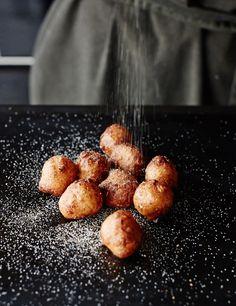 ricotta mini donuts - yum