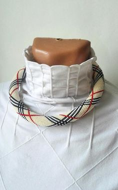 Burberry necklace bead necklace original jewelry unusual