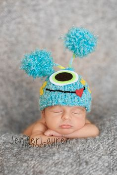 Can someone... anyone please make this hat?? my sons nickname is the monster!! this would be perfect