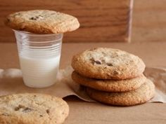Tyler Florence EPISODE:Bake Sale Delights; My Big, Fat Chocolate Chip Cookies : Recipes : Cooking Channel