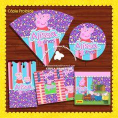 Kit Arte Digital Peppa Pig | CandyBee | Elo7
