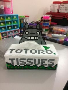 Totoro's Tissue box