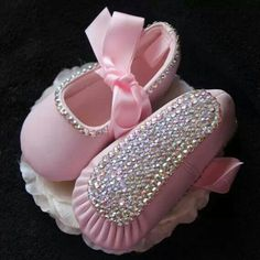 Love the pink baby ballet shoes!!!