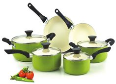 Cookware use thick gauge aluminum material provide super heat conductive without any hot-spot in bottom