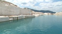 MARBLE LAKE - MACEDONIAN PAMUKKALE IN PRILEP This summer, Prilep got another attraction that draws hundreds of visitors from the city and surrounding areas. A small lake with turquoise color, located in an abandoned marble mine above the village Belovodica