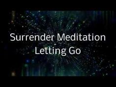 Surrender Meditation | A Spoken guided visualization (Letting go of cont...