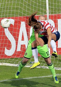 Alex Morgan scored her first goal of 2013 vs. Sweden. Header off a corner from Pinoe