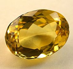 What Color Is Beryl | GOLDEN BERYL Loose Gemstone Vintage Faceted Oval 5.31cts fgs111