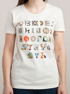 A-Z Art History, $20, threadless.com   - Seventeen.com
