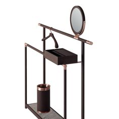 KORI dresser stand with hanger and umbrella holder
