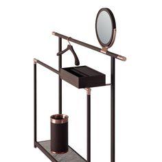 KORI dresser stand with hanger and umbrella holder