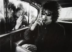 Dylan in London. Epitome of sixties cool